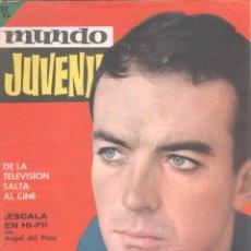 Tebeos: MUNDO JUVENIL Nº 34 ORIGINAL EDI. BRUGUERA 1963 - MARISOL, LANDERS SCHOOL. Lote 56171714