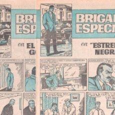 Tebeos: BRIGADA ESPECIAL NºS 5 Y 6 CUADERNOS HEROES NºS 19 Y 23 EI. BRUGUERA 1964 SIN CIRCULAR, NUEVOS. Lote 56173841