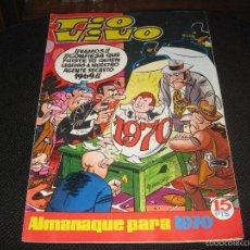 Tebeos: TIO VIVO - ALMANAQUE 1970 - BRUGUERA. Lote 56180074