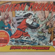Tebeos: EL CAPITAN TRUENO Nº 129 ¡GRITOS EN LA TORMENTA! ORIGINAL BRUGUERA 1959. Lote 56041277