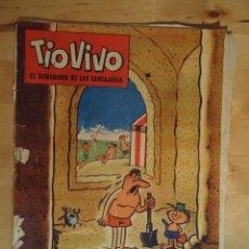 Giornalini: CÓMIC TIO VIVO EL SEMANARIO DE LAS CARCAJADAS AÑO IV NÚM 21 EDITORIAL BRUGUERA 1961 ESCOBAR DON TELE. Lote 56202616