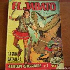 Tebeos: EL JABATO GIGANTE. Nº 3. . Lote 56207705