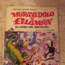 Tebeos: MORTADELO DE TAPA DURA - 2ª EDICION 1979 - EL CASO DEL BACALAO. Lote 56207989