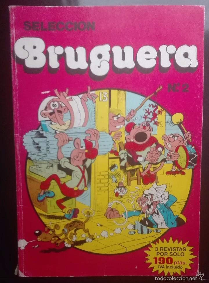 SELECCION BRUGUERA Nº 2 - 3 REVISTAS INTERIOR - BRUGUERA 1985 (Tebeos y Comics - Bruguera - Cuadernillos Varios)