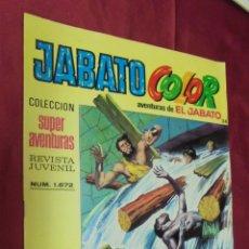 Tebeos: JABATO COLOR. Nº 34. SEGUNDA EPOCA. EDITORIAL BRUGUERA.. Lote 244992060