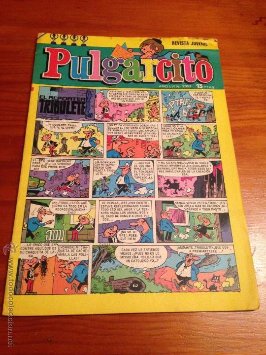 PULGARCITO 6ª SEXTA EPOCA. Nº 2353. BRUGUERA 1976. F. DIAZ. (Tebeos y Comics - Bruguera - Pulgarcito)