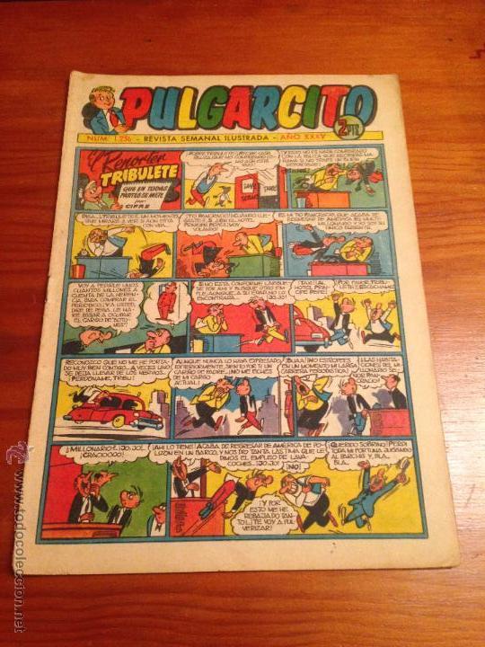 PULGARCITO 6ª SEXTA EPOCA. Nº 1236. BRUGUERA 1955. EL INSPECTOR DAN. (Tebeos y Comics - Bruguera - Pulgarcito)