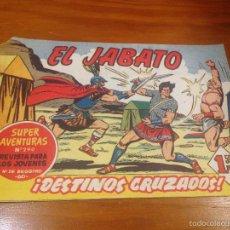 Tebeos: EL JABATO Nº 86. DESTINOS CRUZZADOS. BRUGUERA 1960. . Lote 56318823