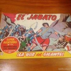 Tebeos: EL JABATO Nº 142. LA VOZ DEL GIGANTE. BRUGUERA 1961. . Lote 56319114