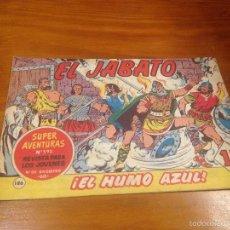 Tebeos: EL JABATO Nº 186. EL HUMO AZUL. BRUGUERA 1962. . Lote 56322656