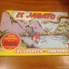 Tebeos: EL JABATO Nº 241. EL SECRETO DEL PANTANO. BRUGUERA 1963. . Lote 56329617
