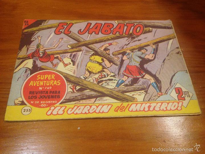 EL JABATO Nº 255. EL JARDIN DEL MISTERIO. BRUGUERA 1963. (Tebeos y Comics - Bruguera - Jabato)