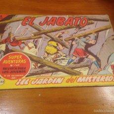 Tebeos: EL JABATO Nº 255. EL JARDIN DEL MISTERIO. BRUGUERA 1963. . Lote 56329758