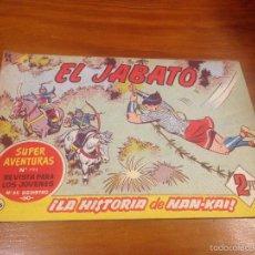 Tebeos: EL JABATO Nº 266. LA HISTORIA DE NAN-KAI. BRUGUERA 1963. . Lote 56329996