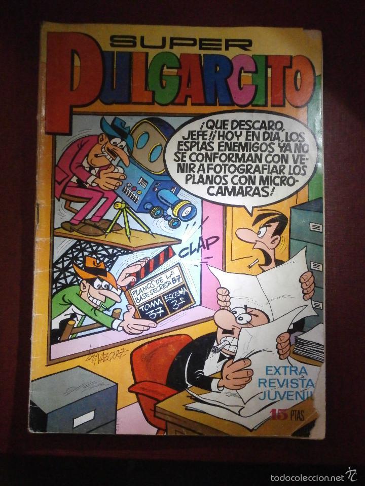 TEBEO - SUPER PULGARCITO - Nº 11 - NUMERO EXTRA - BRUGUERA 1971 - (Tebeos y Comics - Bruguera - Pulgarcito)