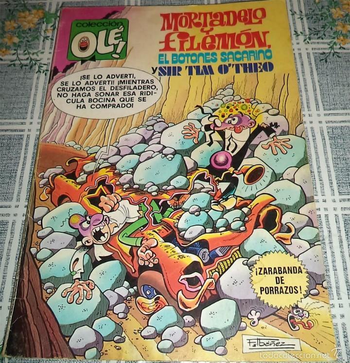 MORTADELO Y FILEMON ED. BRUGUERA 1ª EDICION 1979 COL. OLE N.º 170 (Tebeos y Comics - Bruguera - Ole)