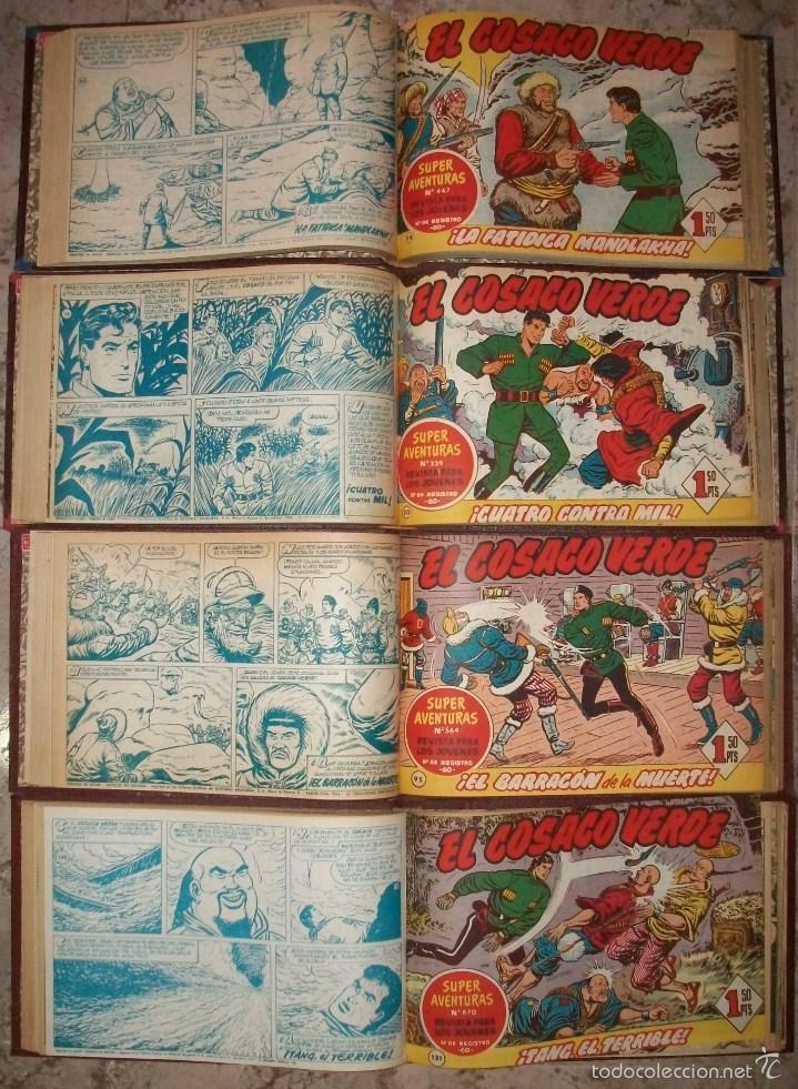EL COSACO VERDE (BRUGUERA) COMPLETA EN 4 TOMOS (Tebeos y Comics - Bruguera - Cosaco Verde)