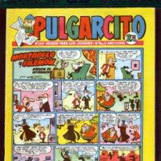 Tebeos: TEBEOS-COMICS GOYO - PULGARCITO - Nº 1412 - BRUGUERA - CON CAPITAN TRUENO *AA99. Lote 39095595