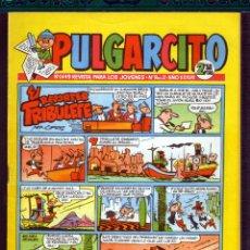 Tebeos: TEBEOS-COMICS GOYO - PULGARCITO - Nº 1449 - BRUGUERA - CON CAPITAN TRUENO *BB99. Lote 39109710