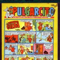 Tebeos: TEBEOS-COMICS GOYO - PULGARCITO - Nº 1451 - BRUGUERA - CON CAPITAN TRUENO *AA99. Lote 39109726