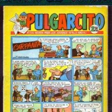 Tebeos: TEBEOS-COMICS GOYO - PULGARCITO - Nº 1593 - BRUGUERA - CON CAPITAN TRUENO ***CC99. Lote 44711194