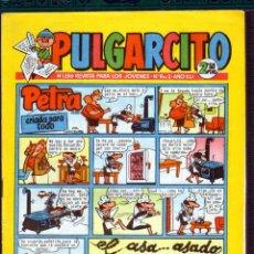 Tebeos: TEBEOS-COMICS GOYO - PULGARCITO - Nº 1556 - BRUGUERA - CON CAPITAN TRUENO *AA98. Lote 44711991