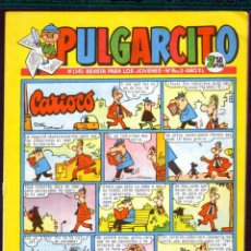 Tebeos: TEBEOS-COMICS GOYO - PULGARCITO - Nº 1545 - BRUGUERA - CON CAPITAN TRUENO *AA99. Lote 44713415