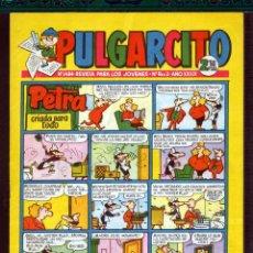 Tebeos: TEBEOS-COMICS GOYO - PULGARCITO - Nº 1484 - BRUGUERA - CON CAPITAN TRUENO *AA99. Lote 44721627