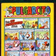 Tebeos: TEBEOS-COMICS GOYO - PULGARCITO - Nº 1481 - BRUGUERA - CON CAPITAN TRUENO *AA99. Lote 44721735