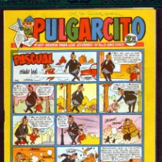 Tebeos: TEBEOS-COMICS GOYO - PULGARCITO - Nº 1477 - BRUGUERA - CON CAPITAN TRUENO *AA99. Lote 44721834