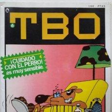 Tebeos: TBO. CUARTA ÉPOCA. NÚM. 6 (1986). Lote 56601368