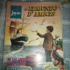 Tebeos: SUPER JOYAS Nº 1 EDMUNDO D´AMICIS BRUGUERA 1ª EDICION 1977 . Lote 56608456