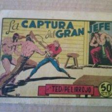 Tebeos: TED EL PELIRROJO Nº 20- BRUGUERA - ORIGINAL -TA. Lote 56893631