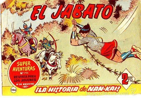 EL JABATO (BRUGUERA) Nº 266 (Tebeos y Comics - Bruguera - Jabato)