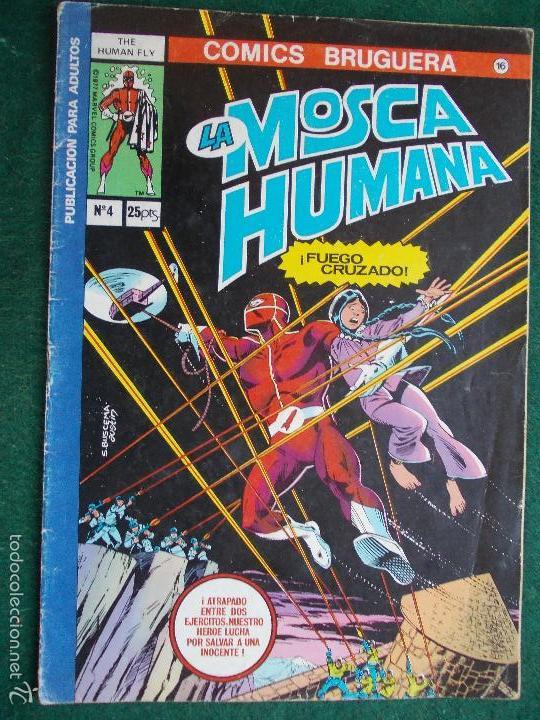 COMIC LA MOSCA HUMANA N º4 (Tebeos y Comics - Bruguera - Otros)