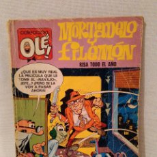 Tebeos: MORTADELO Y FILEMON, RISA TODO EL AÑO. 2ª EDICION 1975. Lote 56967549