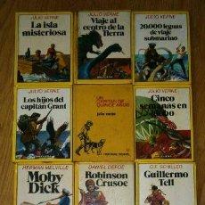 Tebeos: LOTE DE 11 LIBROS DE LA COLECCIÓN HISTORIAS INFANTIL DE BRUGUERA, NOVELAS EDITADAS EN BARCELONA. Lote 45212293