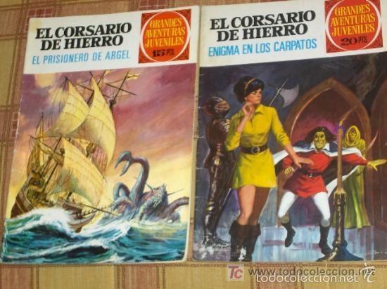 Tebeos: CORSARIO HIERRO 1 3(2) 5(2) 7 9 11(2) 15(2) 19(2) 25(2) 29(2) 33 37 45 49 53 57(2) 65(2) 69. SUELTOS - Foto 2 - 38883977