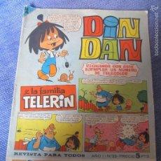 Tebeos: DIN DAN - AÑO I - Nº 23 - BRUGUERA 1965- ORIGINAL. Lote 57110032