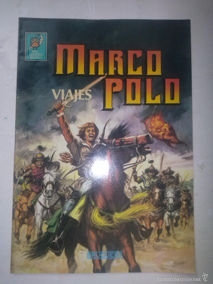 NUEVAS JOYAS LITERARIAS -VIAJES DE MARCO POLO- Nº 4 -Y ÚLTIMO-GRAN JESÚS BLASCO-CASI BUENO-LEAN-5039 (Tebeos y Comics - Bruguera - Joyas Literarias)