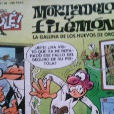 Tebeos: MORTADELO Y FILEMON. LA GALLINA DE LOS HUEVOS DE ORO. Lote 114454230