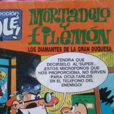 Tebeos: MORTADELO Y FILEMON LOS DIAMANTES DE LA GRAN DUQUESA. Lote 57127755
