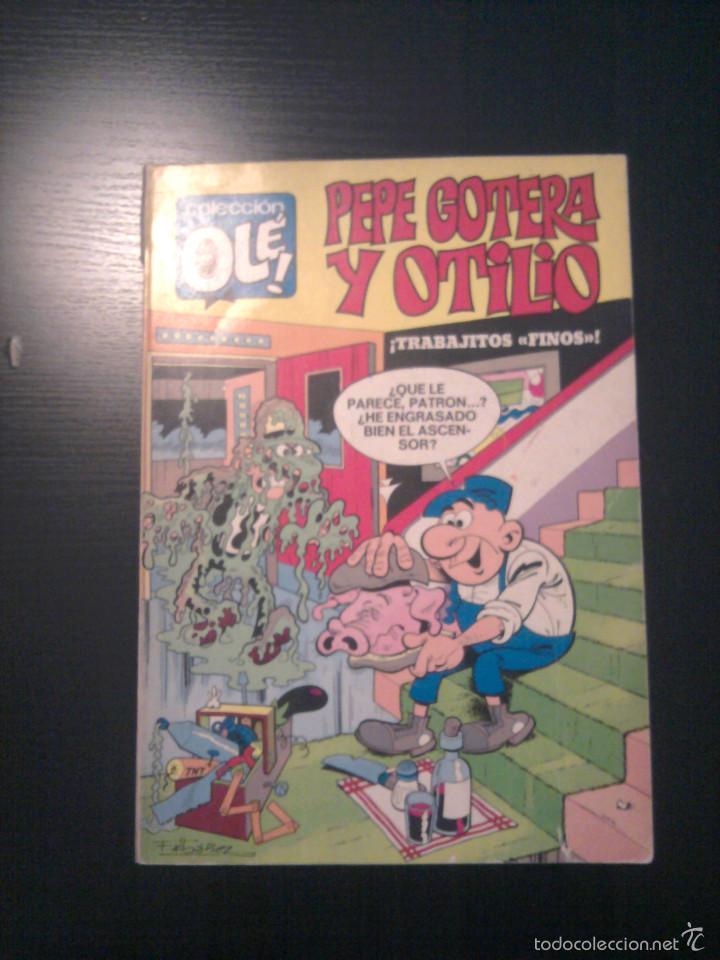 PEPE GOTERA Y OTILIO OLÉ Nº 8 PRIMERA EDICIÓN 1ª NÚMERO EN LOMO (Tebeos y Comics - Bruguera - Ole)