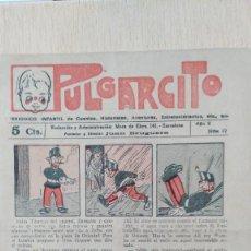 Tebeos: PULGARCITO - AÑO 2, Nº 42 - PERIÓDICO INFANTIL DE CUENTOS, HISTORIETAS, AVENTURAS, ENTRETENIMIENTO... Lote 57253954