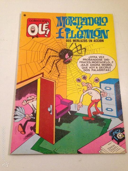 COLECCION OLE Nº 35 MORTADELO Y FILEMON. 3ª TERCERA EDICION BRUGUERA 1979. IBAÑEZ. (Tebeos y Comics - Bruguera - Ole)