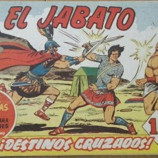 Tebeos: EL JABATO Nº 86 ¡DESTINOS CRUZADOS! ORIGINAL BRUGUERA 1960. Lote 57306845