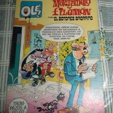 Tebeos: MORTADELO Y FILEMON SACARINO ED. BRUGUERA 1ª ED. 1982 COL. OLE N.º 249. Lote 57310594