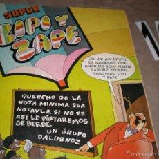 Tebeos: SUPER ZIPI Y ZAPE AÑO 1983. Lote 57327212