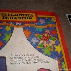 Tebeos: EL FLAUTISTA DE HAMELIN,CUENTO TITERE AÑO 1980. Lote 57327272