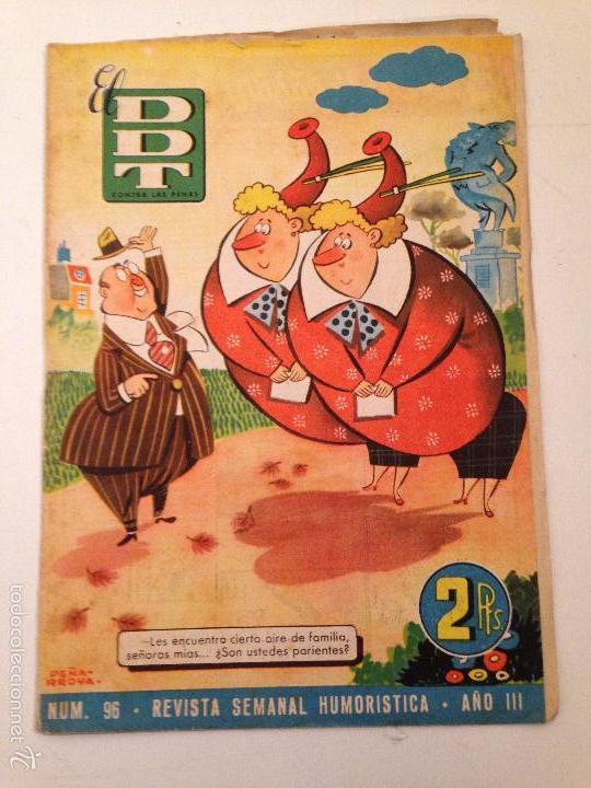 EL DDT 1ª EPOCA Nº 96. BRUGUERA 1953. (Tebeos y Comics - Bruguera - DDT)